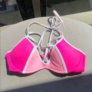 Victoria's Secret pink bathing suit top